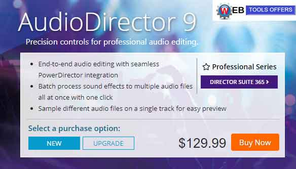 AudioDirector 9 Discount Coupons