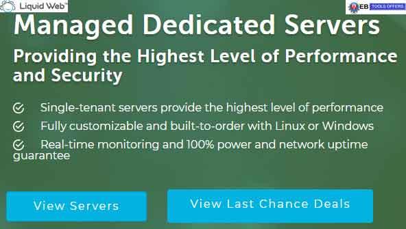 LiquidWeb Managed Dedicated Servers Discount Deal