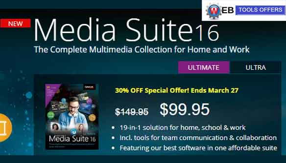 Media Suite16 Discount Coupon