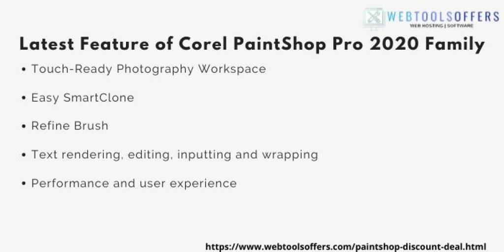 Paintshop Pro 2020 Family Coupon