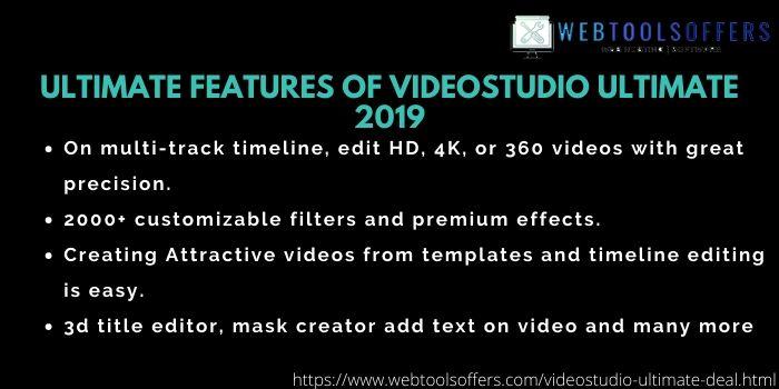 VideoStudio Ultimate Discount Code