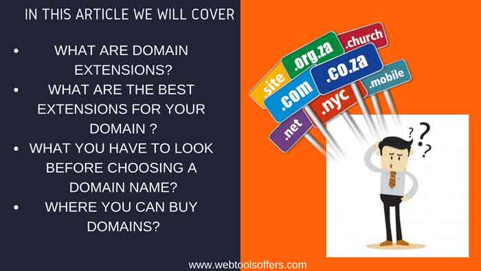 WHAT ARE BEST EXTENSION FOR YOUR DOMAIN?