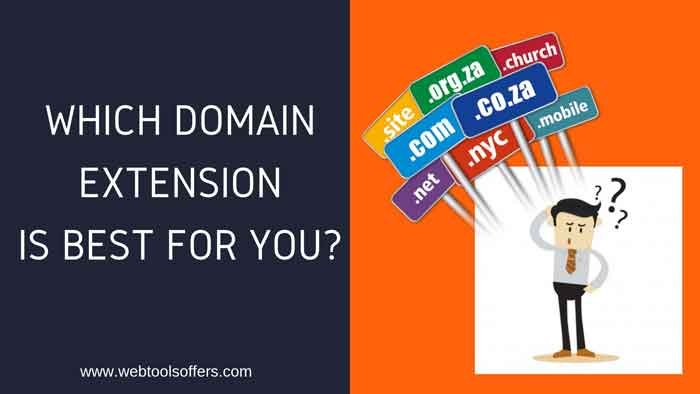 WHICH DOMAIN EXTENSION YOU SHOULD USE FOR YOUR WEBSITE
