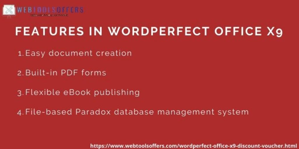 WordPerfect Office X9 Discount Coupon