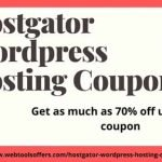 hostgator wordpress hosting coupon