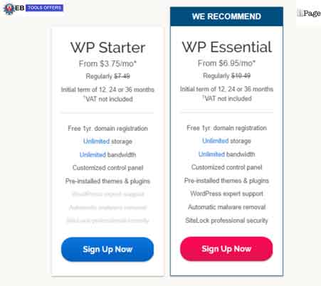 iPage wordpress hosting discount