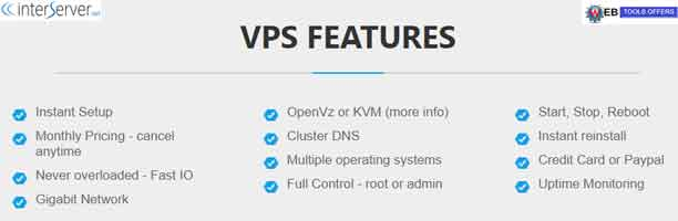 interserver VPS hosting Discount Coupons