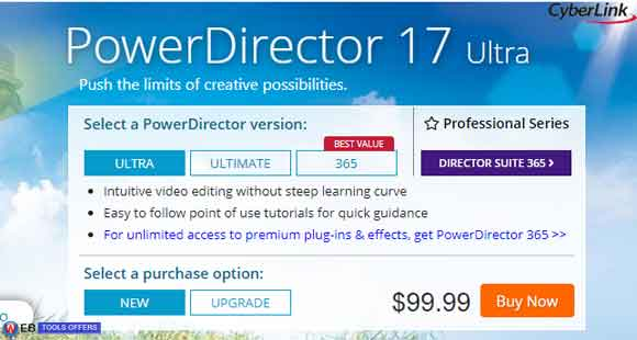 PowerDirector Discount Voucher