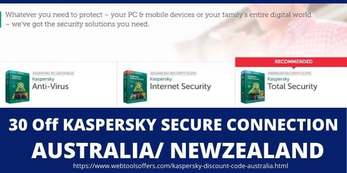 Kaspersky Discount Code Australia- Kaspersky Home Products