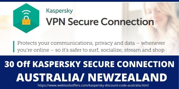 Kaspersky Discount Code Australia & Newzealand- Secure connection