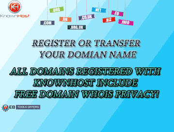 KnownHost Domain Name Voucher