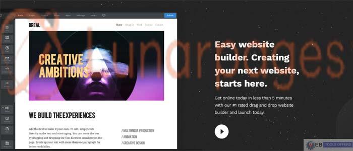 Lunarpages Free Website Builder