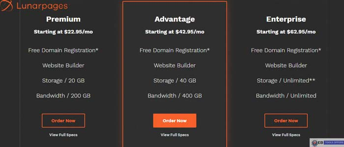Lunarpages Business Web Hosting Discount Code