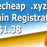Namecheap .xyz domain name registration Discount deal
