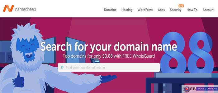 Namecheap Domain Name Registration Discount Code