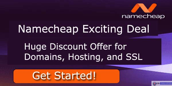 Namecheap Coupon Codes