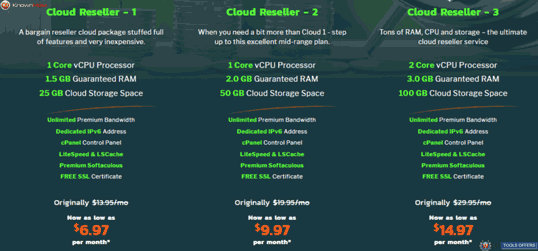 Knownhost Cloud Reseller Hosting Deal