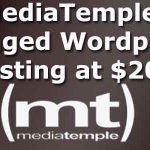 Media Temple Wordpress Hosting Deal