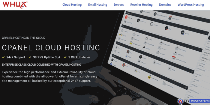 webhosting UK Cpanel Cloud Hosting
