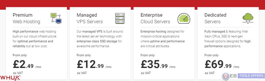 webhosting UK Plans