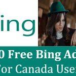 $100 Free Bing Ads Credit