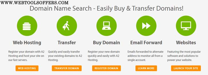 A2 Hosting Domain Coupon