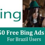Get $50 Free Bing Ads Credit