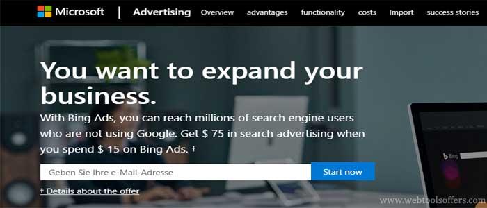 Bing Ads Credit Gutschein