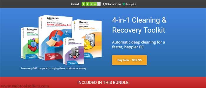 CCleaner professional Plus Discount Deal