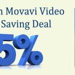 Movavi Video Editor Saving Deal