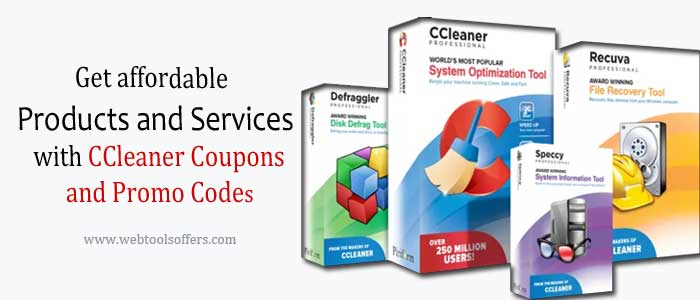 Affordable Products and Services with CCleaner Coupons and Promo Codes