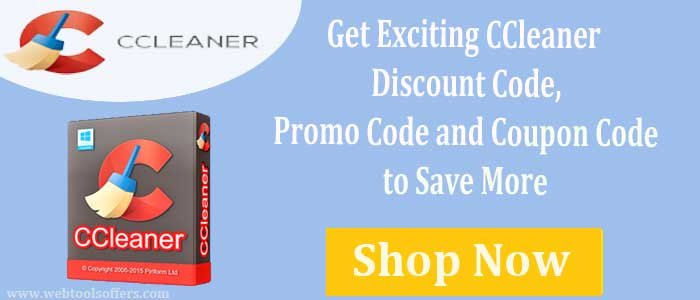 CCleaner Coupons and promo Code