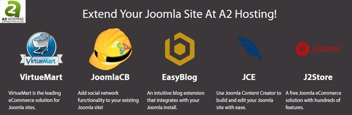 Joomla feature extent