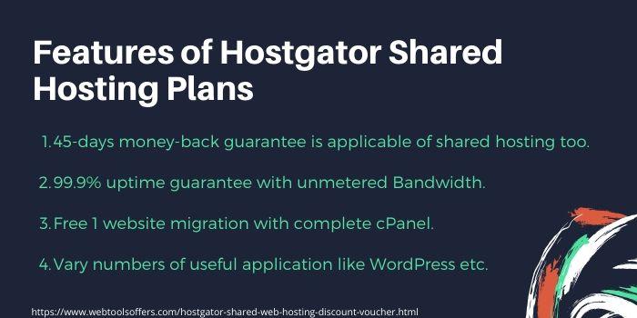hostgator shared hosting promo code