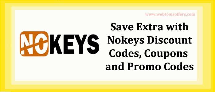 Nokeys Discount Codes