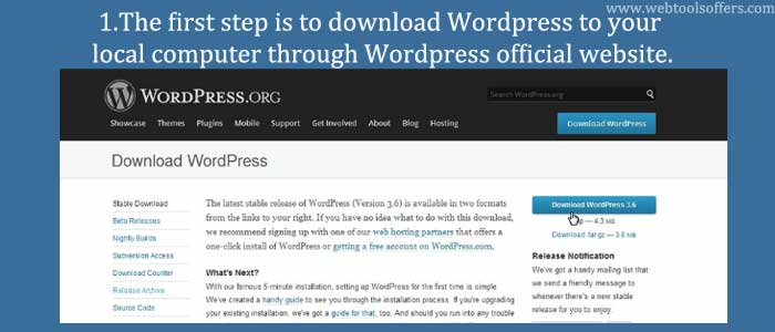 download wordpress to your local computer