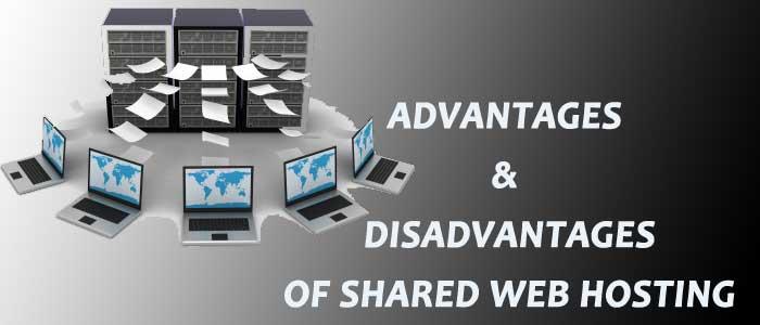 ADvantages & disadvantages Of shared web hosting
