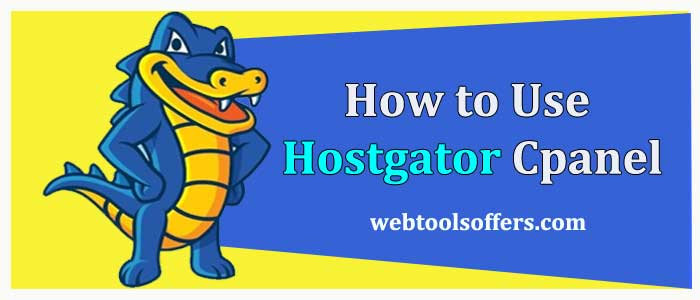 how to use hostgator Cpanel