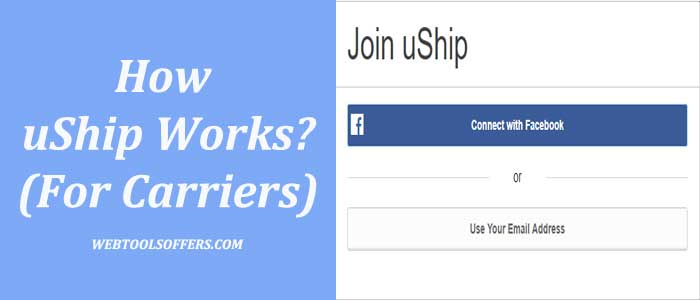 how uShip work for carriers