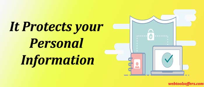 Domain Privacy protects your personal information