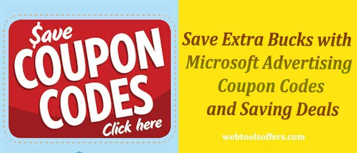 Microsoft Advertising Coupon Codes