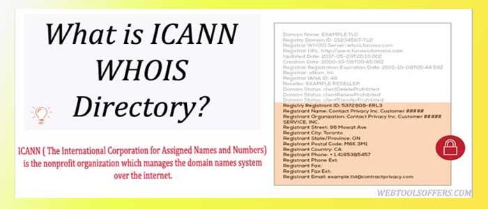 ICANN WHOIS Directory