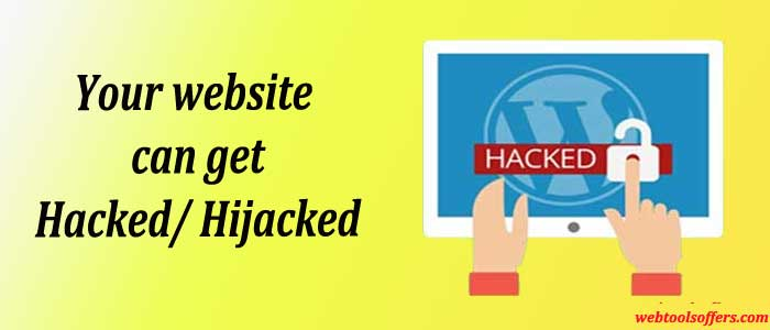 Your website can get Hacked/ Hijacked