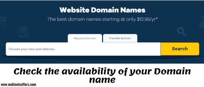 Availability of Domain Name