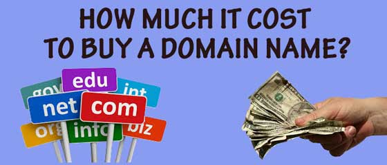 How musch it cost to buy a domain name