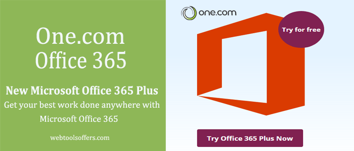 One.com Microsoft Office 365