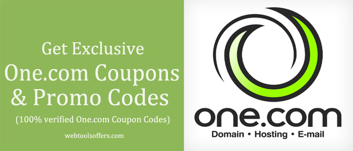 one.com Coupons & Promo Codes