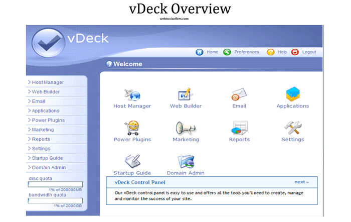 vDeck Overview