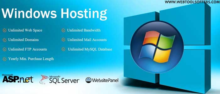features of windows hosting