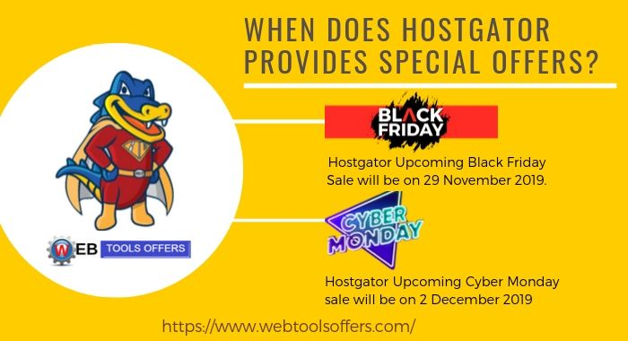 Hostgator Black Fiday & Cyber Monday Sale